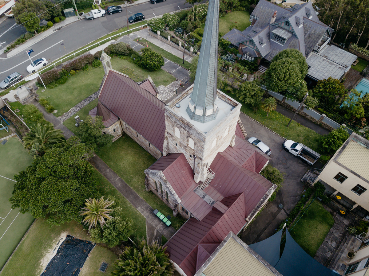 St Michael's Anglican Church Copper Roofing